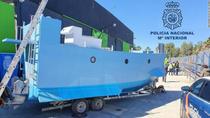 Narco-submarin fabricat in Spania