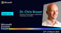 Dr. Chris Brauer, Director of Innovation, Goldsmiths, University of London