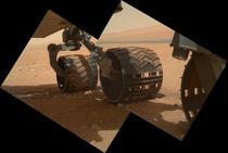 Rotile roverului Curiosity