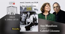 """Ana Blandiana în dialog Gabriel Liiceanu despre """"Soră lume"""""""