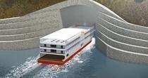 Primul tunel pentru vapoare din lume