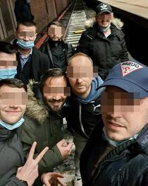 Protestatarii de la metrou