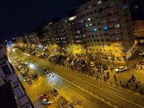 Protest anti restricții in Capitala