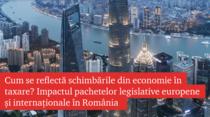 Impactul pachetelor legislative europene și internaționale în România