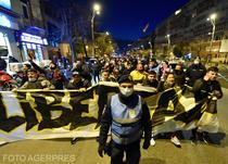 Protest anti-restrictii in Bucuresti