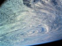 Nor de furtuna vazut din spatiu