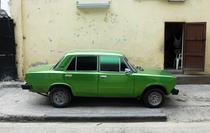 O masina Lada in Havana