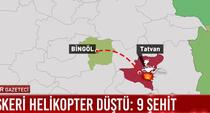 elicopter militar prabusit Turcia