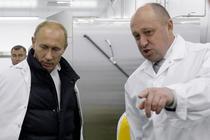 Evgheni Prigojin alaturi de Vladimir Putin
