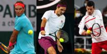Nadal, Federer, Djokovic