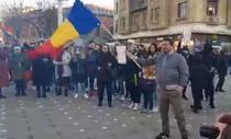 Timisoara, protest anti-restrictii