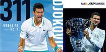 Novak Djokovic, lider al ierarhiei ATP