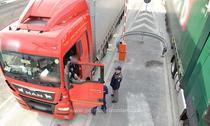 cozi de camioane la frontiera cu ungaria