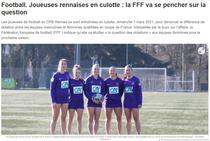 Jucătoarele echipei Cercle Paul-Bert Brequigny