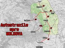 Autostrazile spre Moldova