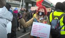 protest Polonia de Ziua femeii