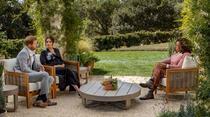 Meghan Markle si printul Harry in timpul interviului acordat lui Oprah