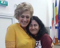 Nicoleta Florea si Nicoleta Vaia, paciente cu mastocitoza