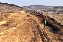 Lucrari incepute pe autostrada Transilvania aproape de Cluj Napoca