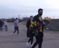 Flori pentru medici la Arad