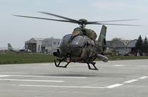 Elicopterul Airbus H145M la baza aeriana 90