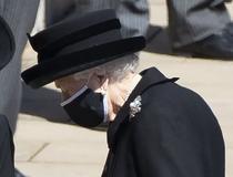 Regina Elisabeta, la funeraliile prințului Philip