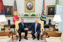 Iohannis si Trump, august-2019