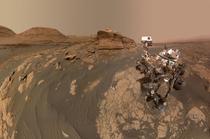 Curiosity - Un selfie cu Mount Mercou