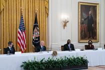 Prima intrunire a cabinetului lui Joe Biden