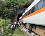 Tren deraiat in Taiwan