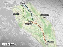 Autostrada sau Drumul expres Pascani - Suceava - Siret