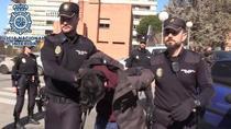 Arestarea lui Alberto Sanchez Gomez