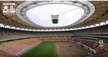 Montarea noului gazon de pe Arena Nationala