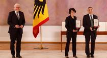 Tureci Și Safin cu președintele Germaniei
