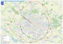 Proiectele rutiere din jurul Bucurestiului - aprilie 2021