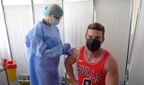 Dorian Popa s-a vaccinat
