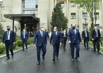 Reuniunea trilaterală a miniștrilor de Externe din România, Polonia, Turcia