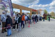 Maratonul vaccinarii, la Timisoara