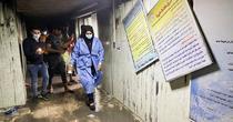 Incendiu in spital Covid Irak (twitter)