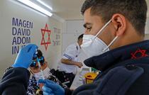 Vaccinare cu Pfizer in Israel