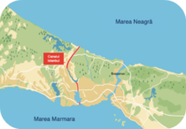 Harta - Canalul Istanbul