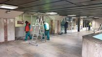 demolare constructii metrou Gara de Nord