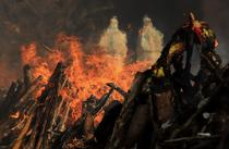 Incinerari Covid India 2