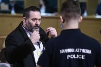 Ioannis Lagos la procesul său din Atena