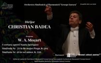 Concert Mozart cu dirijorul Christian Badea