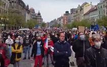 Protest la Praga