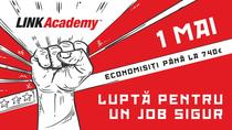 LINK Academy oferă o reducere de până la 740€ la școlarizarea pentru cele mai bine plătite joburi în IT