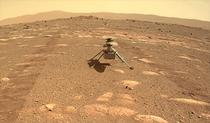 Elicopterul Ingenuity, pe suprafața lui Marte