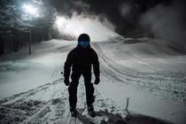 Pe schiuri noaptea