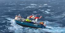 Salvare de pe nava Eemslift Hendrika